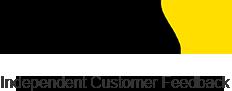 Feefo Logo, Black and Yellow