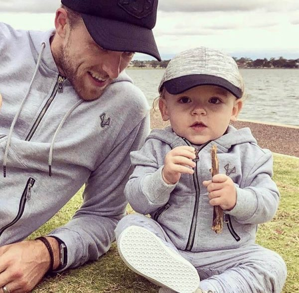 Matching Father & Son Hoodies