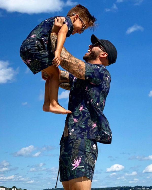 Matching Father & Son Resort Shirts