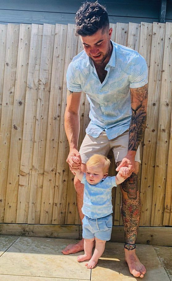 Matching summer shirts for father and son MANCUB