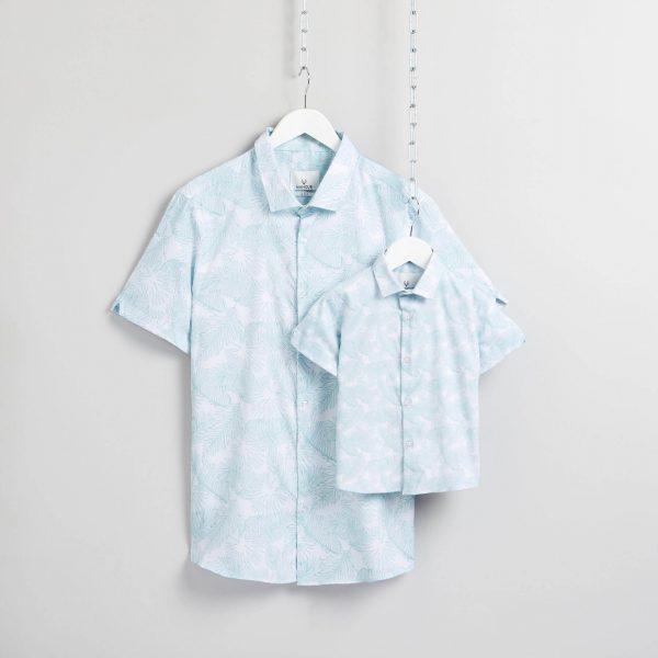 Matching Father & Son Holiday Shirts