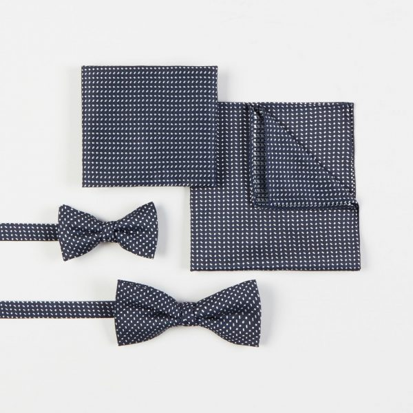 Matching Father and Son Bow Tie Set