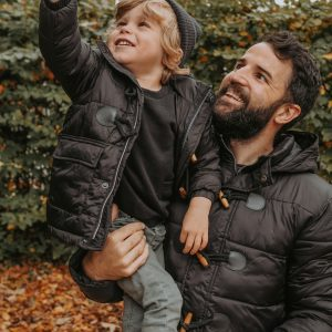 Matching father and son coats by MANCUB