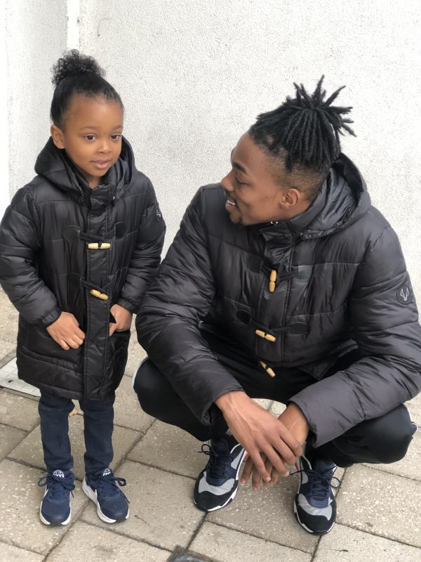 Matching Father and Son Padded Duffle Coats by MANCUB