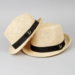 Matching Adult and kid trilby hats