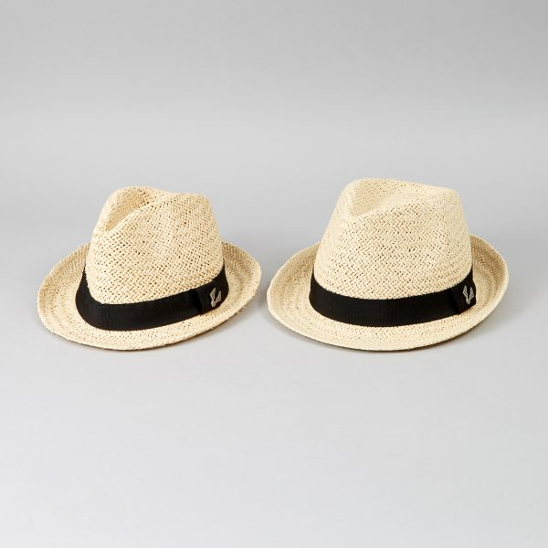 Matching father and son hats