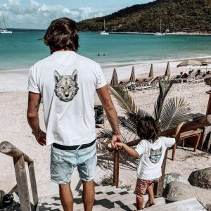 matching dad and son t-shirts for holiday