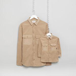 MANCUB matching cord shirts