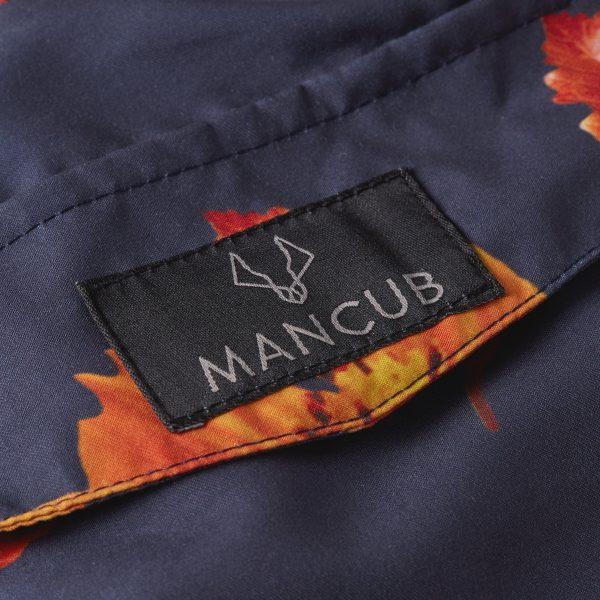 Orange Bloom MANCUB Swim shorts